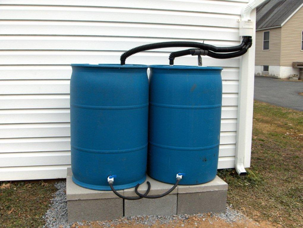 How to Connect a Rain Barrel to a Downspout