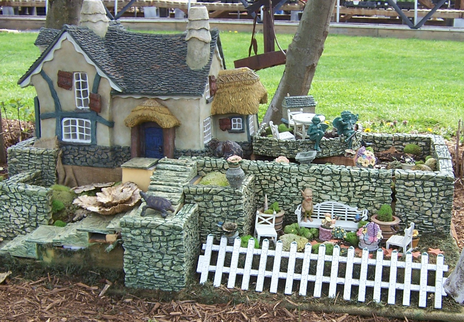 Garden Design With BibbidiBobbidiBoo! Create A Fairy Woodland The Garden  Diaries With Using Rocks In