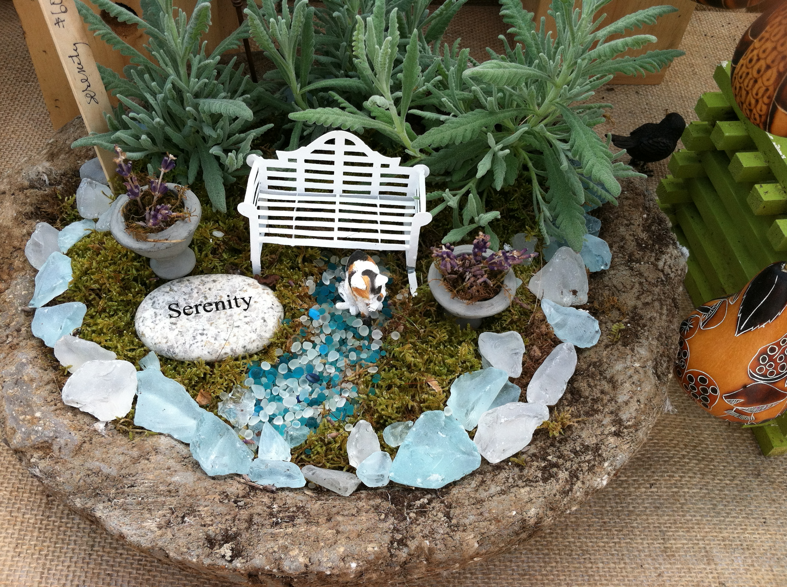 Miniature gardens whimsical creations the garden diaries for Mini landscape garden ideas