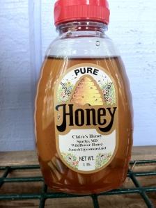My bottled honey