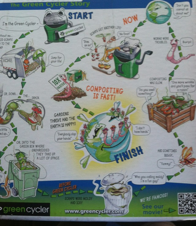 Green Cycler Gcgg02 Kitchen Scrap Pre Composter Garden: Composting Cartoon