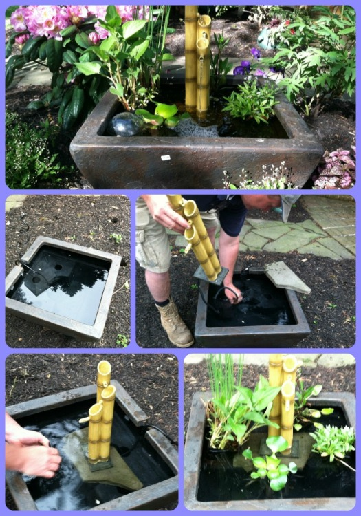 How to install a fountain in 15 minutes
