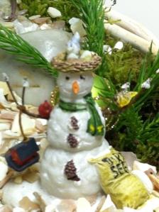 Mini snow man