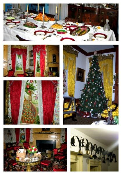 Decorating Hampton mansion for Christmas