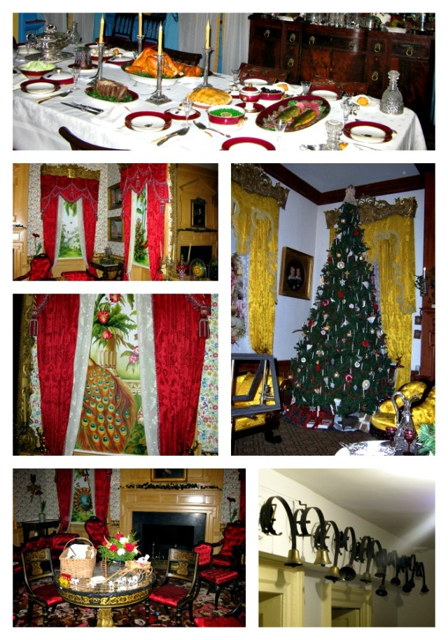 Decorating Hampton mansion for Christmas