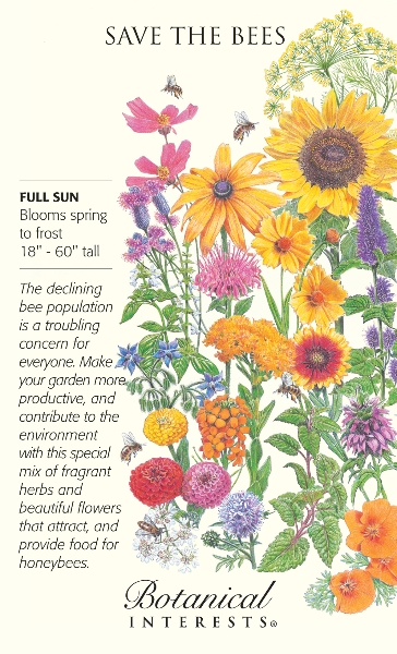 Save the Bees Seeds