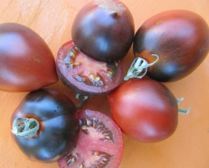 Darker tomatoes have more lycopene
