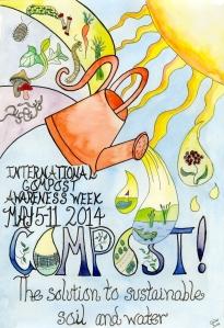 Composting week poster