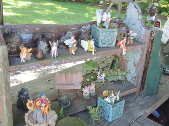 Fairy accessories on display