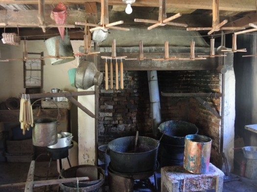Candle making room