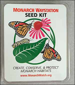 Monarch Waystation Sign available at http://shop.monarchwatch.org/store/p/1181-Monarch-Waystation-Sign.aspx