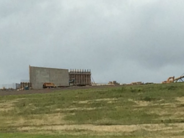 New visitor center going up