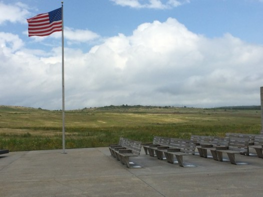 Flight 93 memorial outdoor auditorium