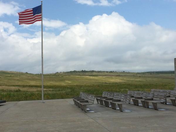 Flight 93 memorial outdoor auditorium