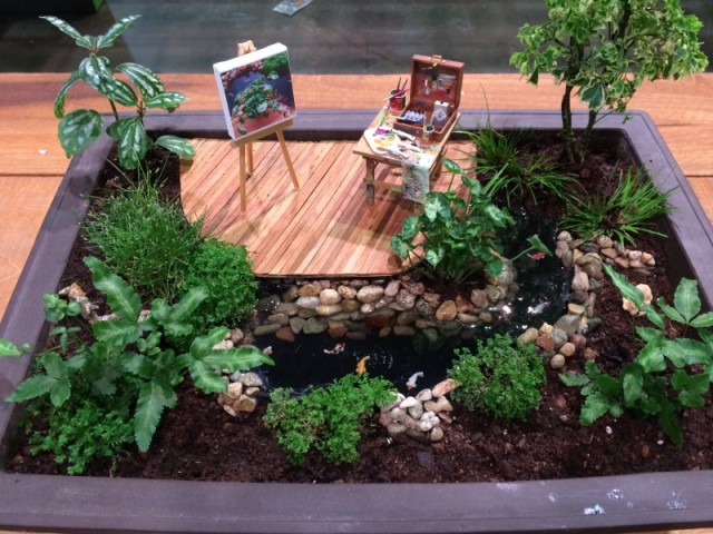 My favorite mini garden from last year