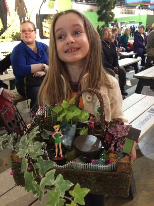 My assistant made a great fairy garden with a little coaching