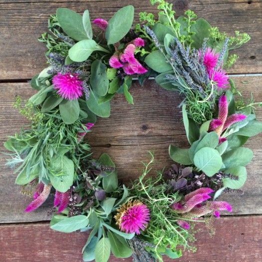 Fresh Herbal Wreath
