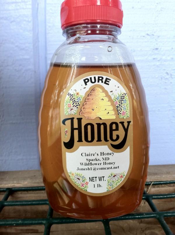 Honey in plastic jar, I no longer use plastic