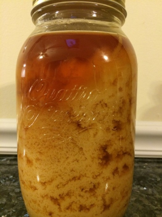 Crystallized honey
