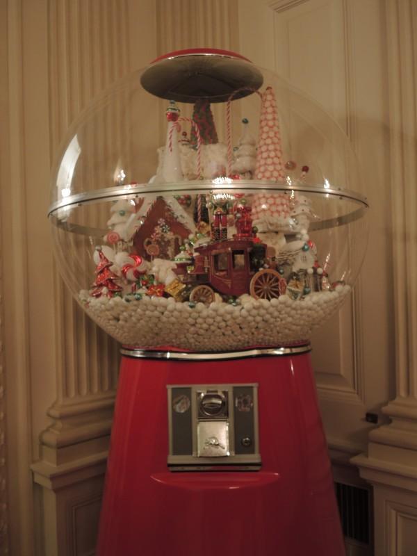 Gumball machine full of treats