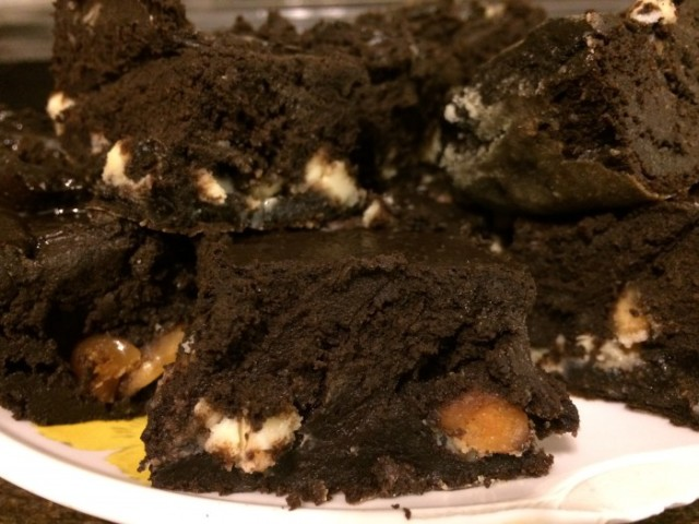 Luscious cauliflower brownies