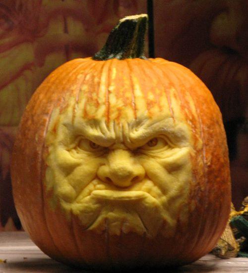 Angry Pumpkin